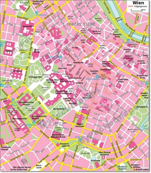 Wien - Stadtplan
