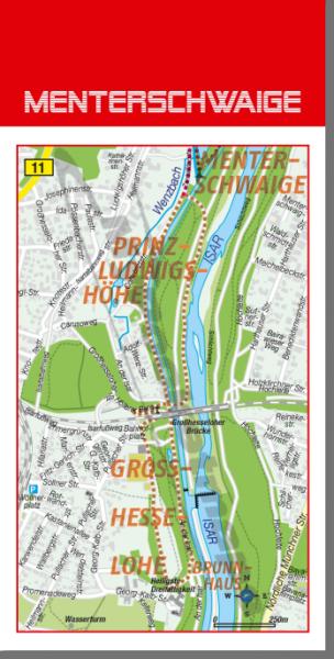 Tourenvorschlag Menterschwaige, Isar, München