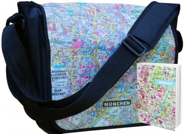 München - Tasche und Notizbuch