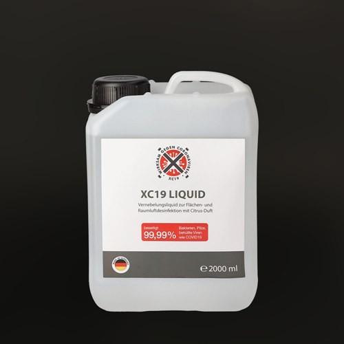 XC19 Liquid 2 Liter Vorratsbehälter Vorderseite
