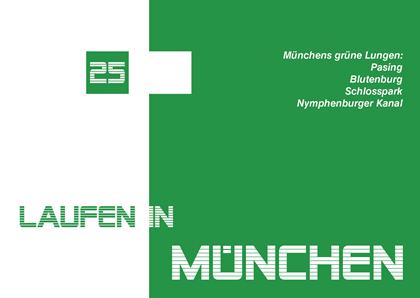 Laufen in München - Cover mit Tourentitel für KMZ