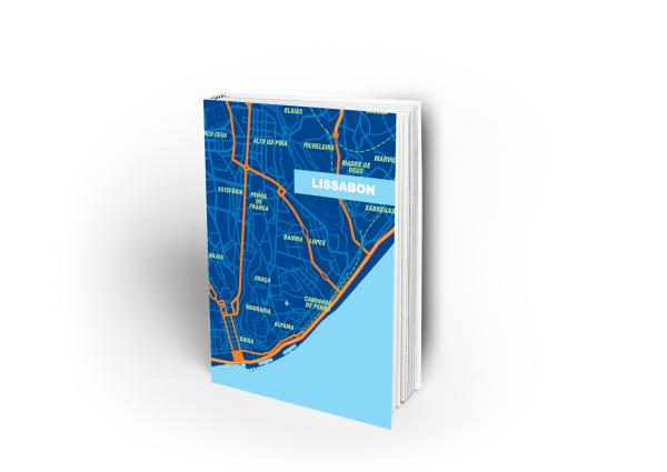 Notizbuch Lissabon blau