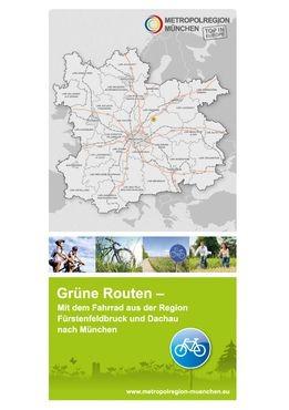 Grüne Routen | Übersichtskarte München