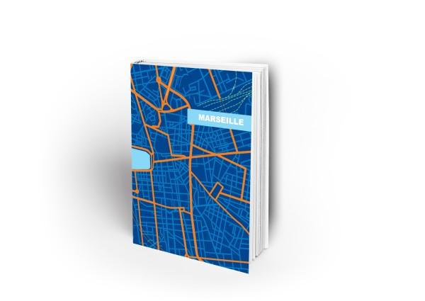 Notizbuch Marseille blau