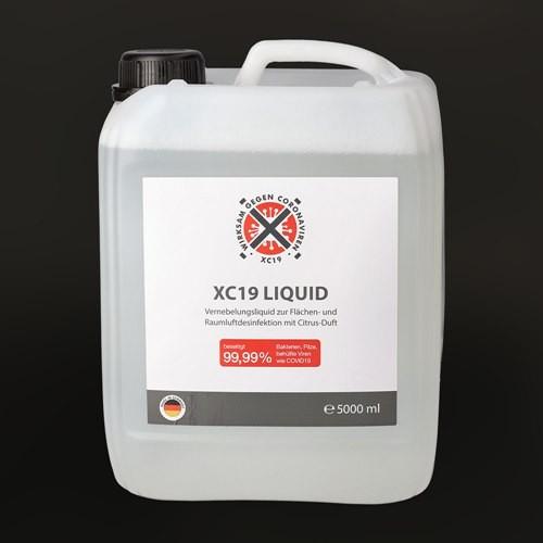 XC19 Liquid 5 Liter Vorratsbehälter Vorderseite